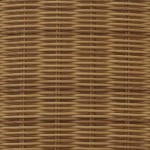 Honey Streaky | Round Core 3mm - Fine Ribbed
