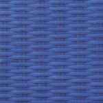 Bright Blue | Flat Flat 6mm - Fine Ribbed