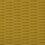 Bright Yellow | Flat Flat 6mm - Fine Ribbed